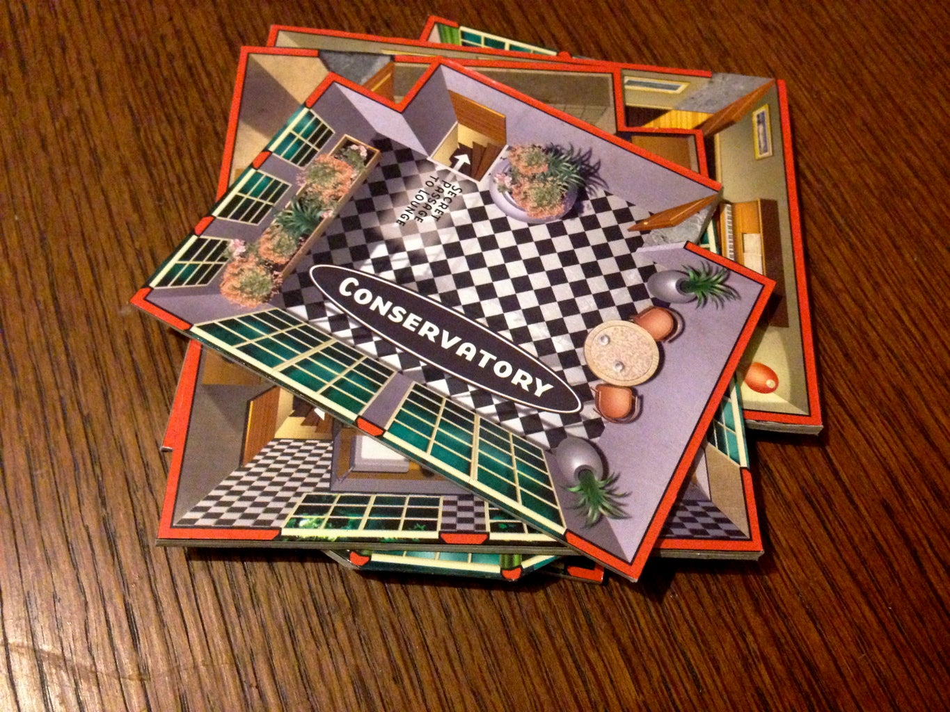 Cut Out Rooms for Coasters