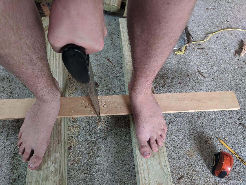 Cutting the 3 X 1