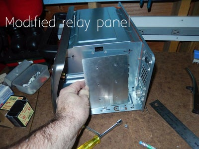 Install the SSR Mounting Plate