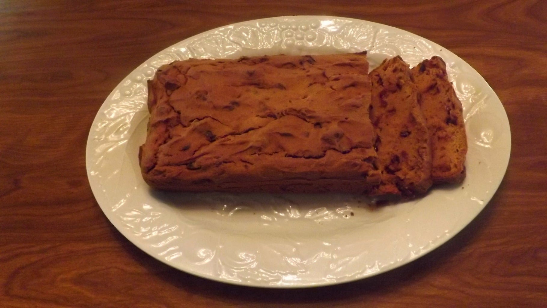 GLUTEN-FREE PUMPKIN-CRANBERRY BREAD
