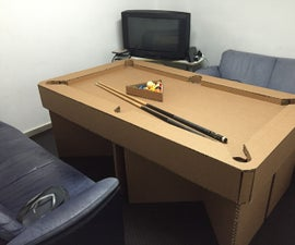 Flat Pack Pooltable