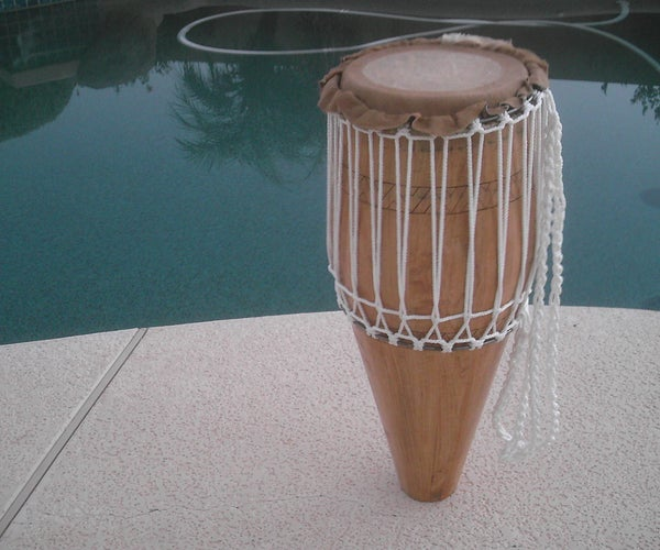 Mali Weave Atabaque