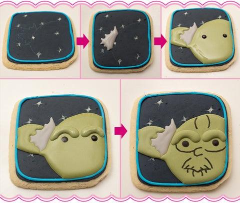 Yoda Star Wars Cookies
