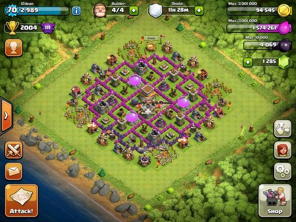Clash of Clans Hybrid Base