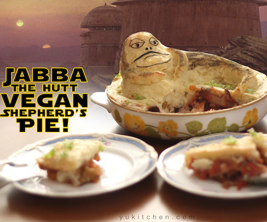 Jabba the Hutt Vegan Shepherd's Pie