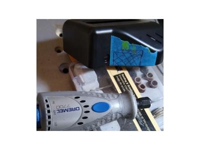 Dremelize Access for the HDMI, Re-assemble