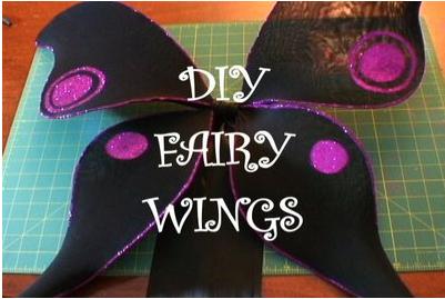 DIY Fairy Wings HOW-TO and BONUS Costume Essential