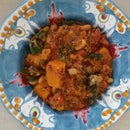 Vegan Dutch Oven Butternut Squash Stew