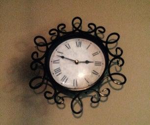 Clock Hiding Place