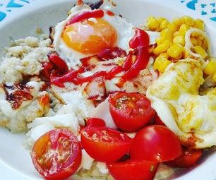 Savoury Egg Oatmeal!