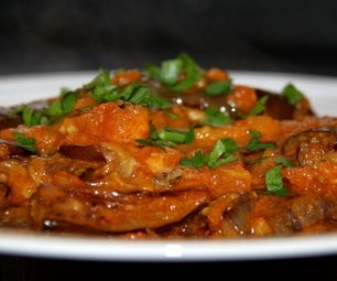 Spicy Eggplants - Indian Food From the Gujarat