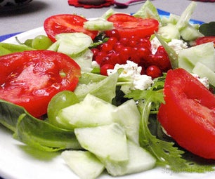Vegetarian Pantry Salad