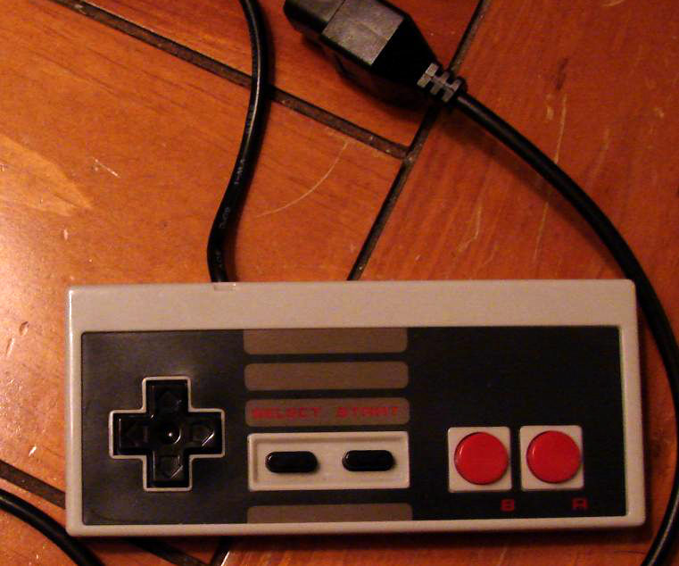 Using an NES controller for emulators with Arduino and Processing