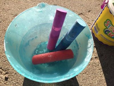 Soak Your Chalk in Water