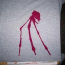 One time use screen printing. (Ghetto screen printing)