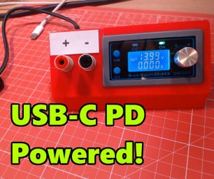 USB-C Powered Bench Power Supply