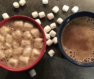 Not Too Sweet Hot Chocolate