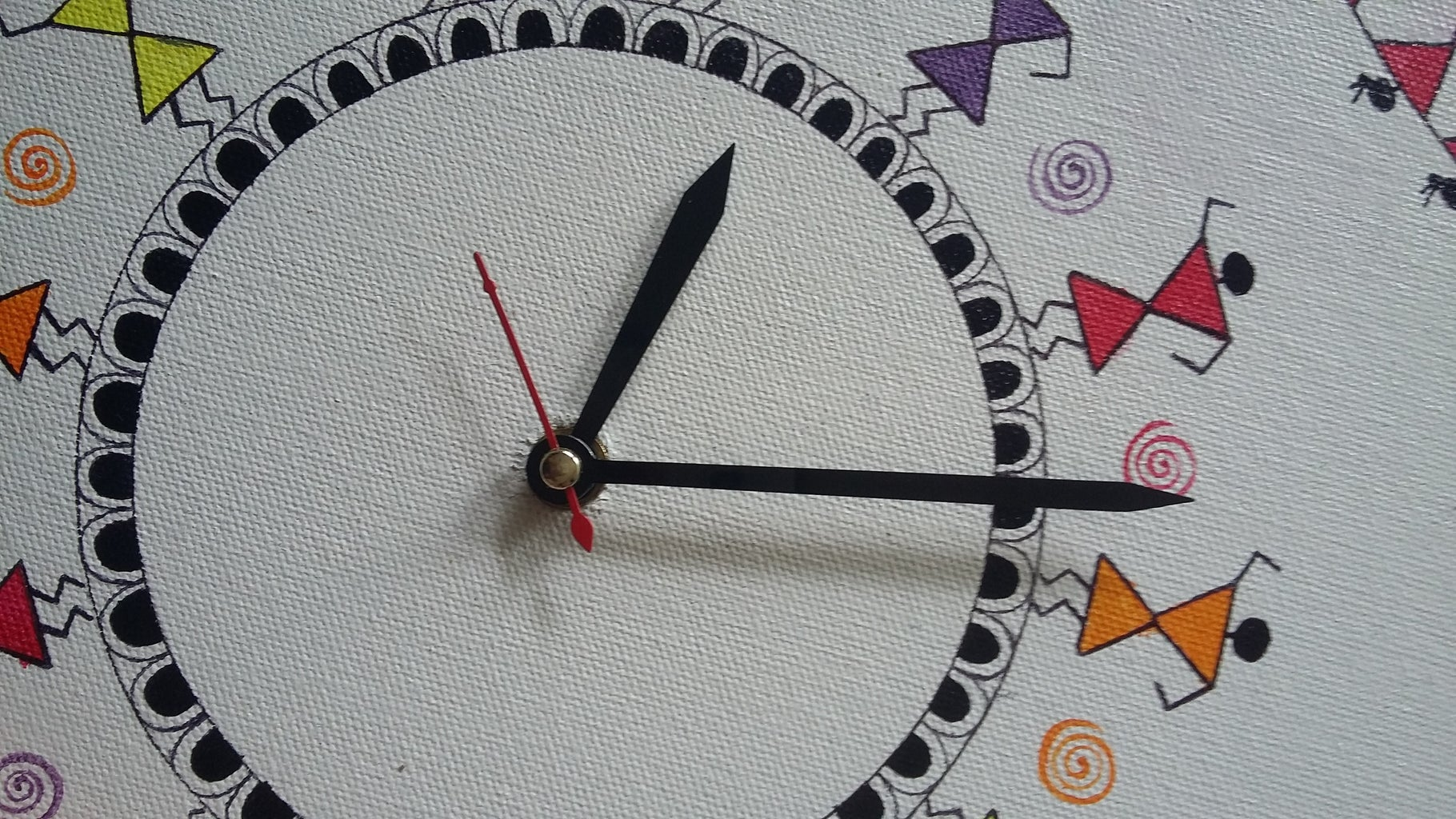 Fitting the Clock Movement Machine