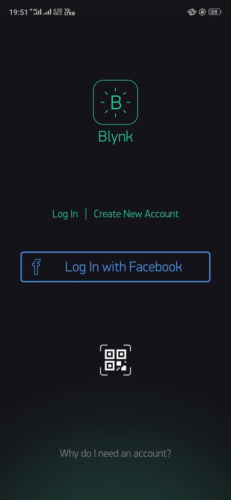 Preparing the Blynk App