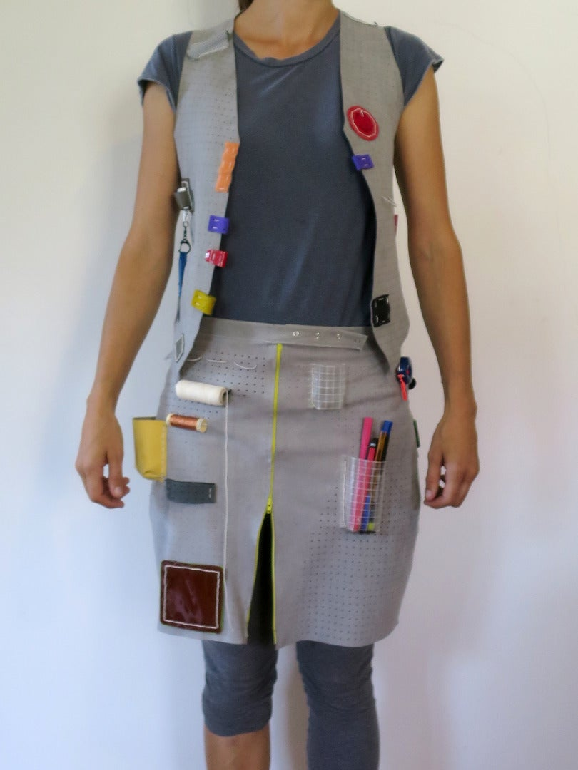 Example: Pegboard Fabric Tool Vest