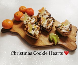 Christmas Cookie Hearts