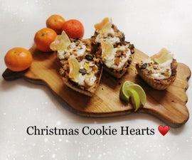 圣诞饼干心