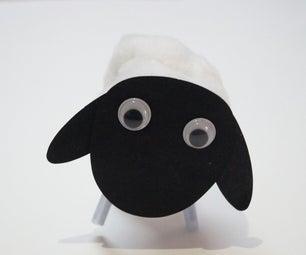 Art and Craft Activity: 3D Sheep