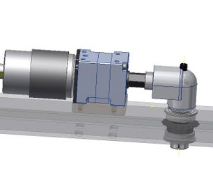 90 Degree Adapter for VexPro VersaPlanetary Gearbox for FIRST Robotics