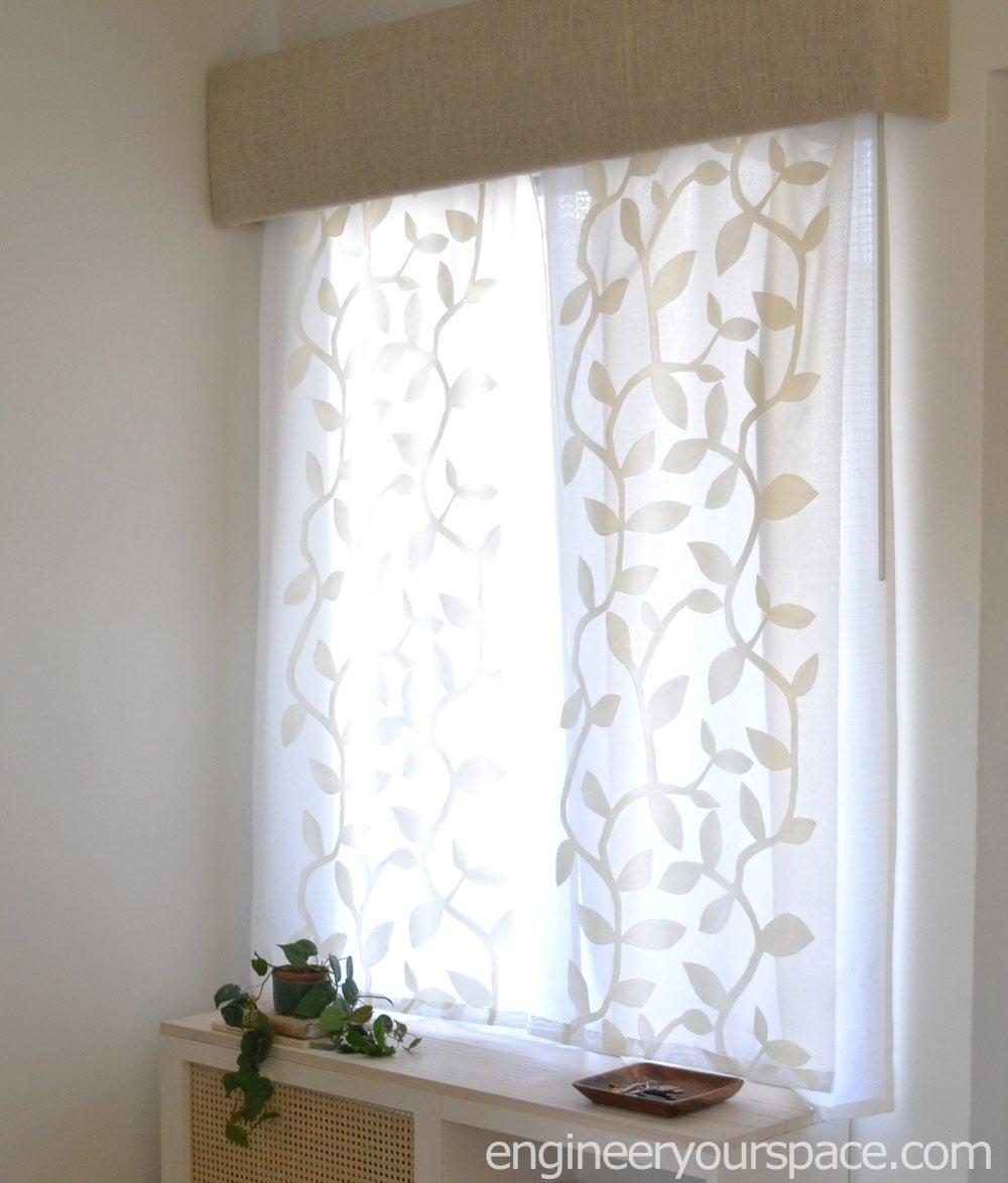 Optional: Make a Window Cornice