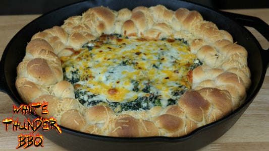 Pull Apart Spinach Dip Bread Recipe