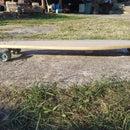 Longboard From Scrap Wood