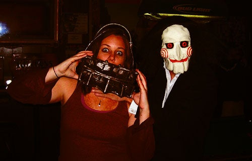 Reverse Bear Trap Mask From Saw I