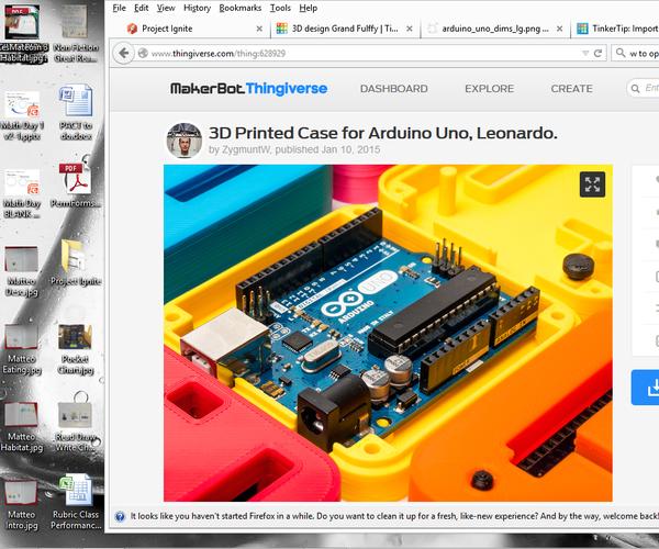 Modified Arduino Uno Box