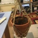 Gardening Without a Garden: Macrame Hanging Planter