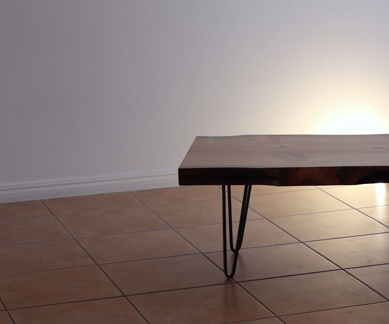 How to Turn a Tree Into a Coffee Table
