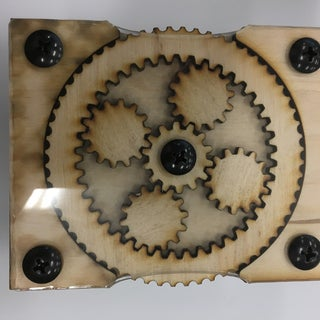 Making a Laser Cut Planetary Gear