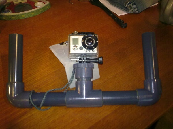Underwater/Stability Rig for GoPro Camera