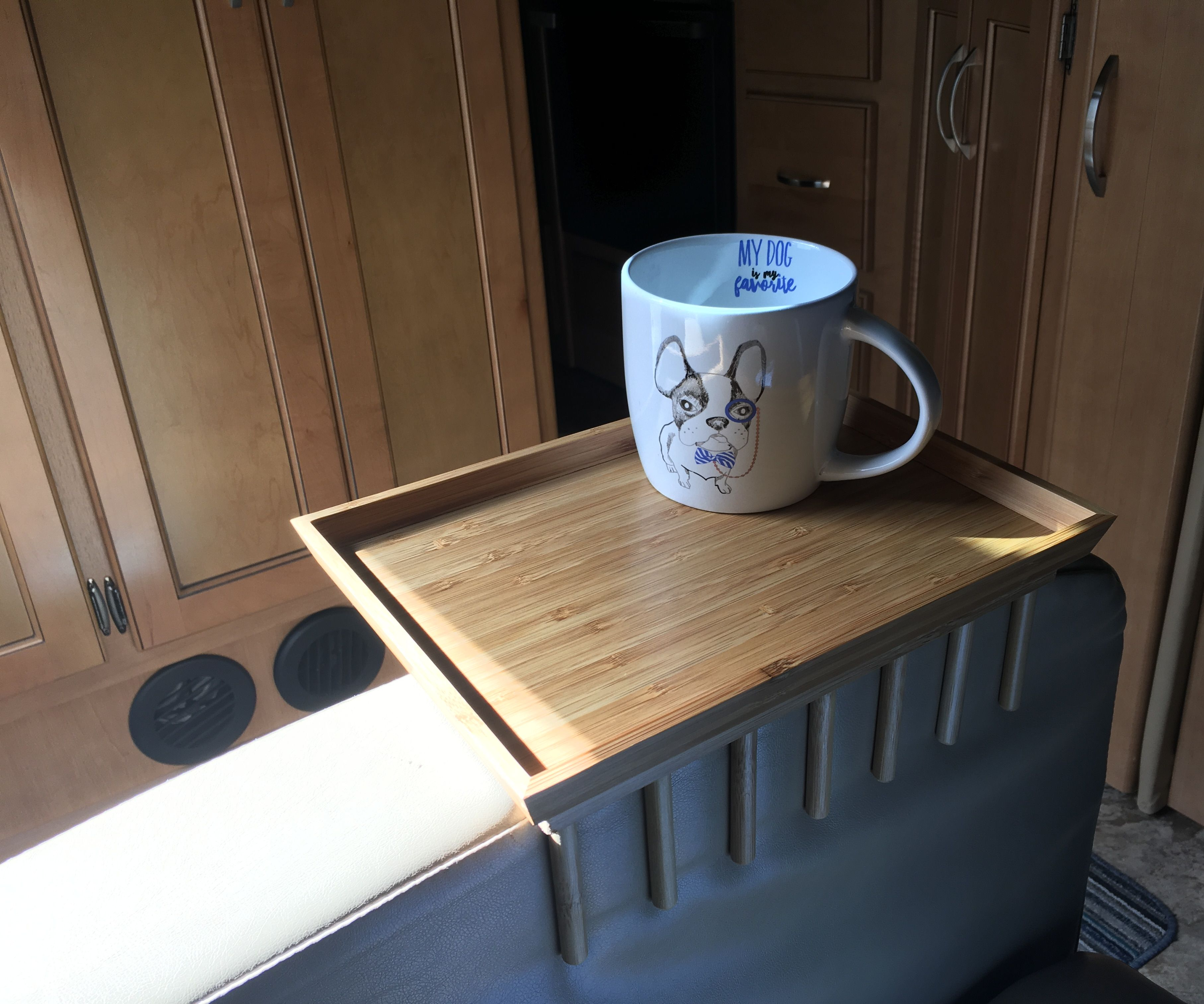 Quick and Easy Armrest Tables