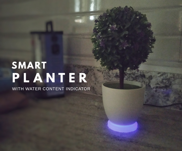 Smart Planter - Indicates Water Level