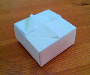 Easy Paper Gift Box (No Tape or Glue!)