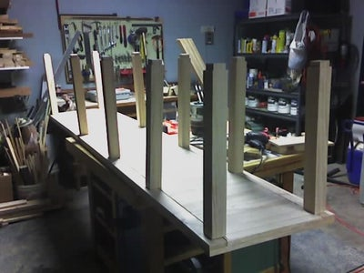 Build Top and Bottom Shelves