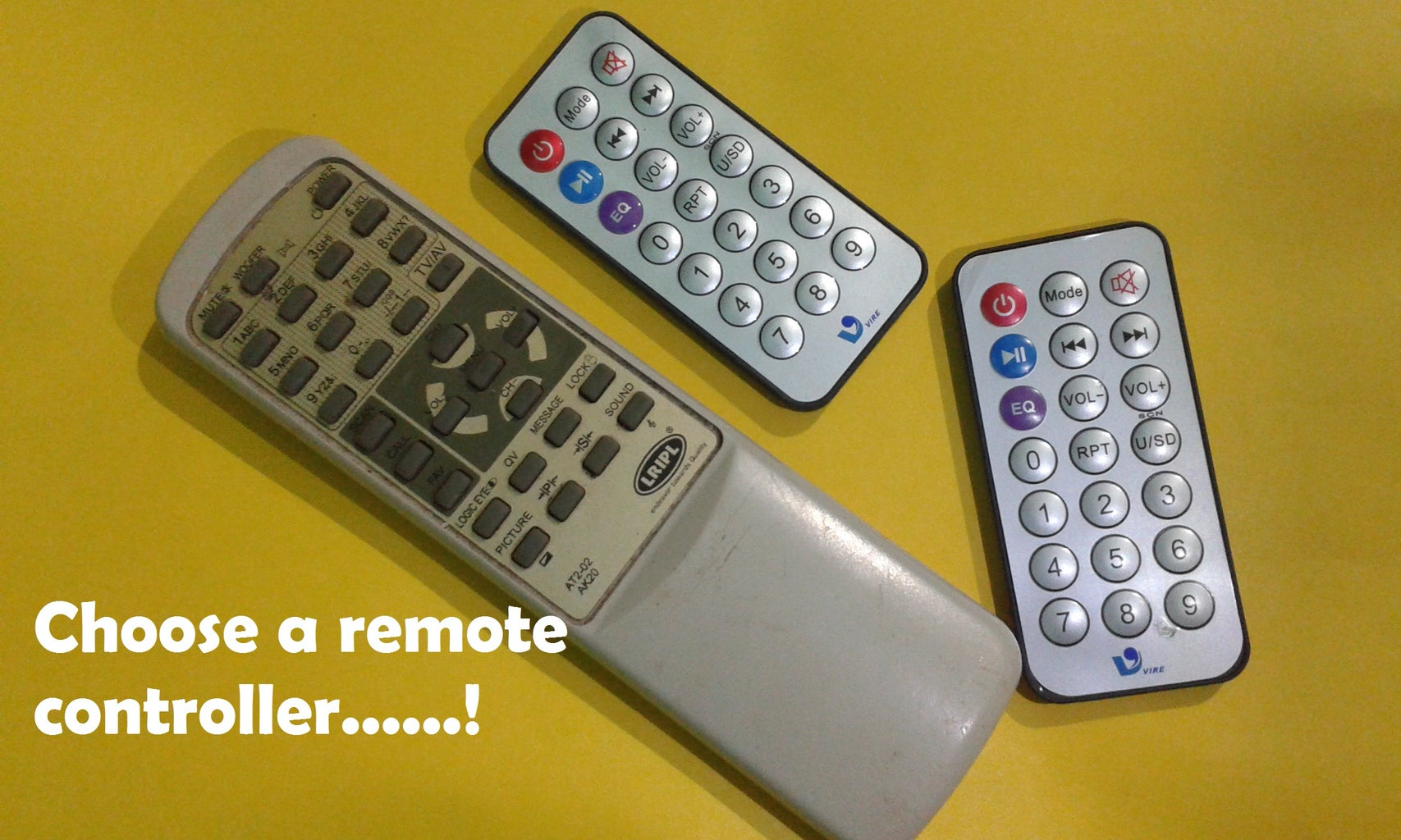 Part 1: Decoding the Remote Controller