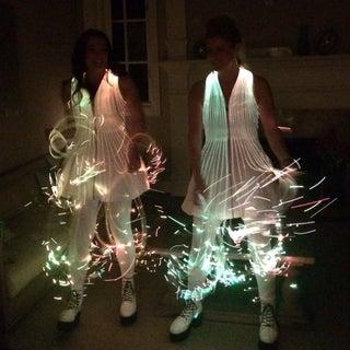 Fiber Optic Dress