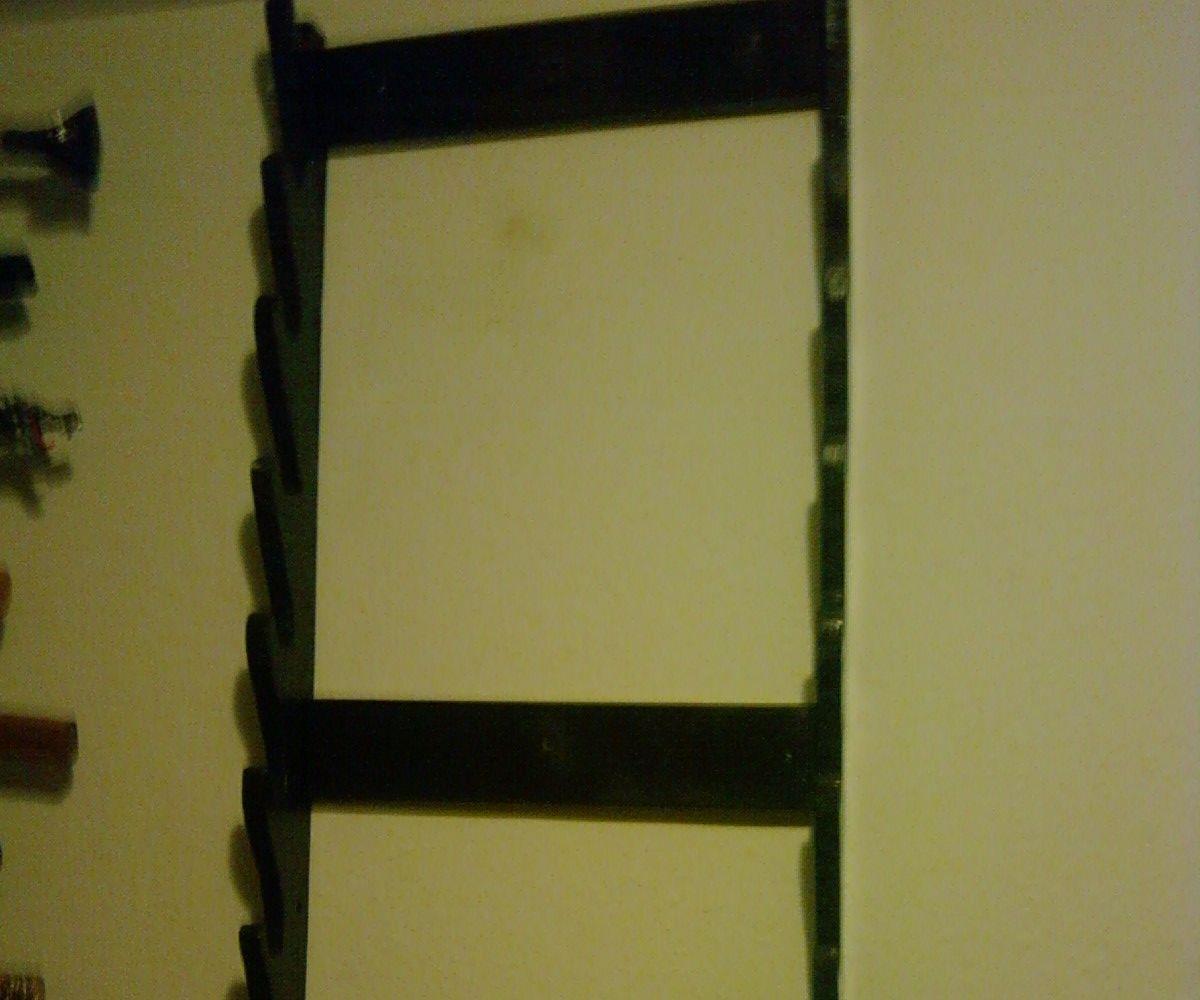 wall mounted weapon rack
