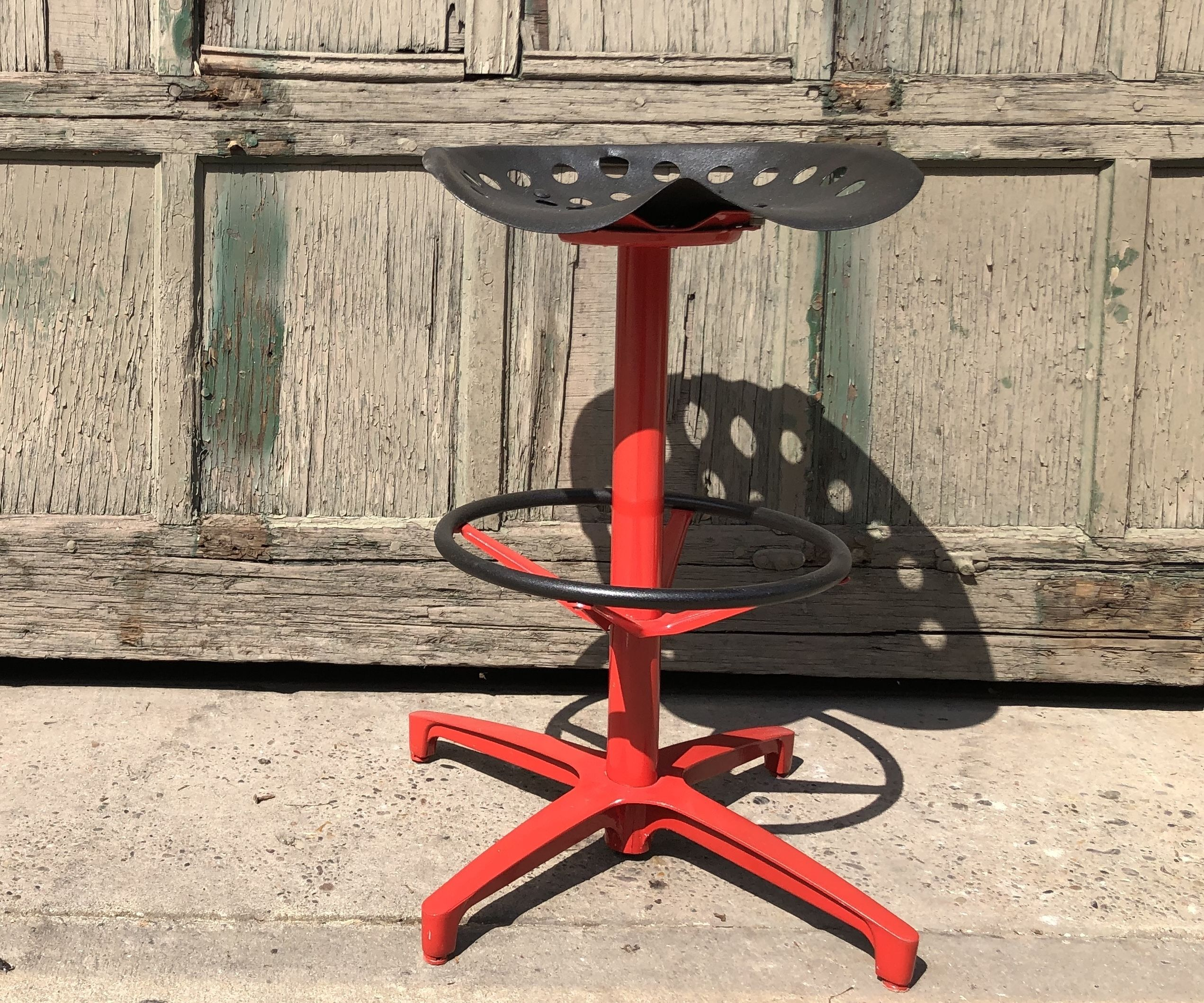 Antique Tractor Seat Bar Stool