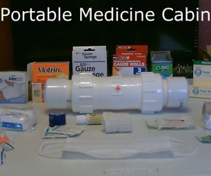 "DIY Waterproof Medicine Cabinet! - Portable ""On-The-Go"" First-Aid Kits! - Very Durable"