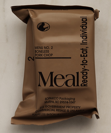 MRE's on the Cheap