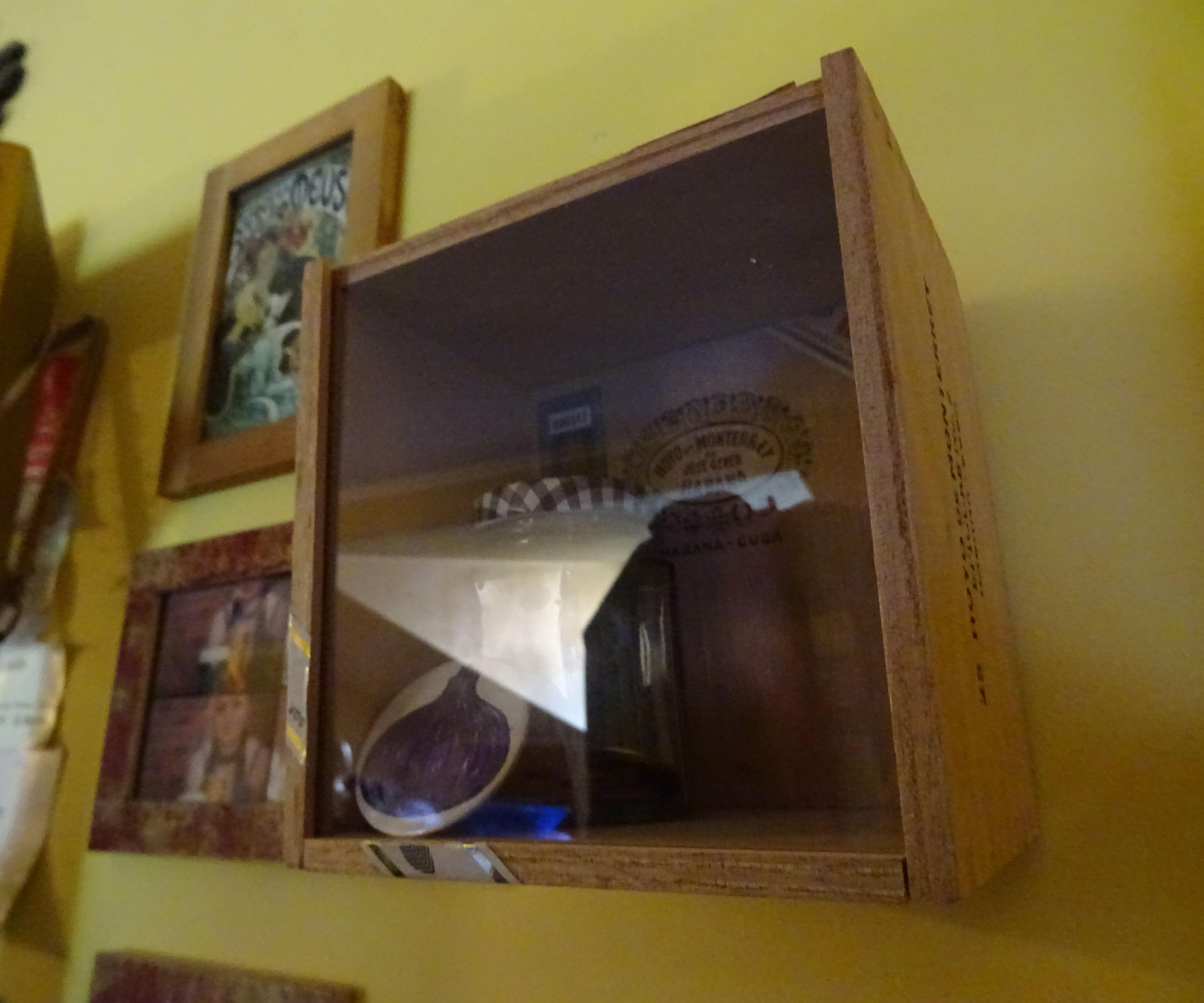 Cigar Box Keepsake Frame