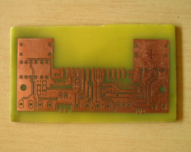 Finishing the PCB