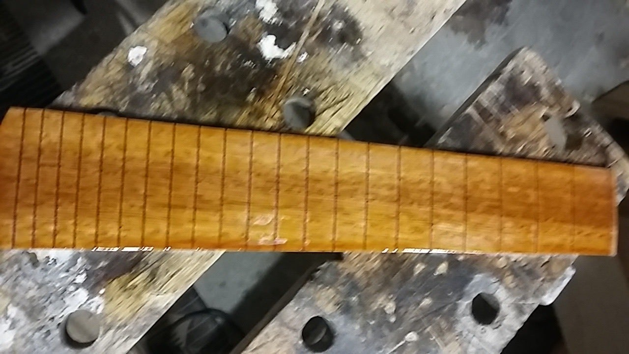 Adding a Fretboard Radius or Removing the Part That Is Not Radiused or Not